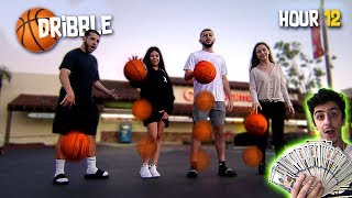 Last To Stop Dribbling The Basketball Wins $5,000 - Challenge