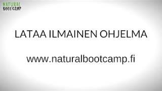 Mikä on Natural Bootcamp - Ilmainen ohjelma! - Jumit ja kivut pois, liikkuvuutta ja voimaa