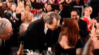 Steve Buscemi Wins Best Actor TV Series Drama - Golden Globes 2011