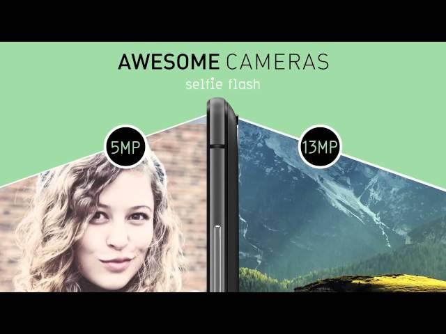 Belsimpel-productvideo voor de Wiko Fever 4G Dual Sim Black Grey