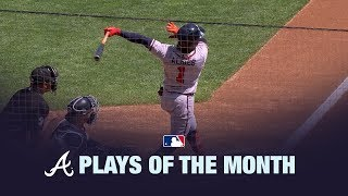 Braves Plays of the Month | August