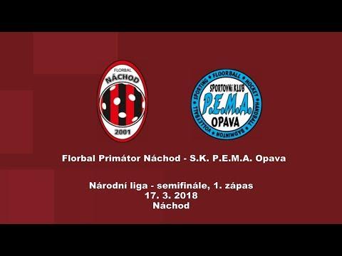 Národní liga PLAY-OFF, 1. semifinále, Náchod - Opava