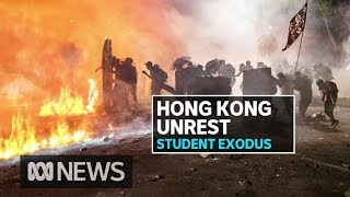Hong Kong protests spark call for Australian university students to come home   ABC News
