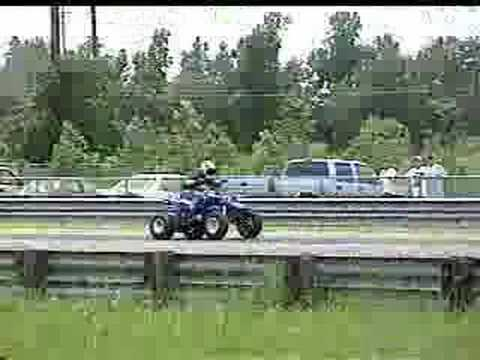 ATV Yamaha Banshee vs. Kawasaki Ninja