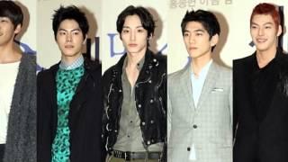 F5 - 5 Models (Sung Joon, Kim Young Kwang, Lee Soo Hyuk, Kim Woo Bin & Hong Jong Hyun)