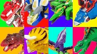 HelloCarbot Jurassic Dinosaur VS CaptainDino Evolution Toy Transformation