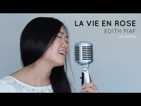 LA VIE EN ROSE (acapella) - Edith Piaf - Cover by Christine Law
