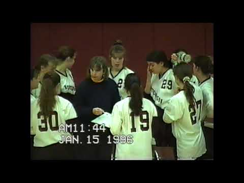 NCCS - Plattsburgh Volleyball 1-15-96