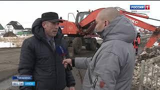 В Омской области готовятся к весеннему паводку