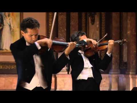 Cuarteto Latinoamericano plays