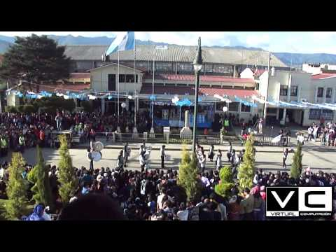 Concurso de Bandas San Juan Ostuncalco 2012 (COLEGIO  LA SABIDURIA)