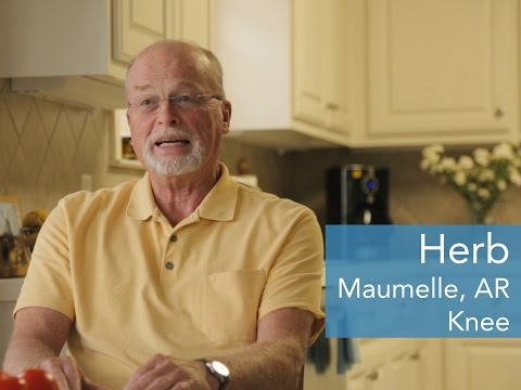"""Herb Blount, a 74-year-old former navy lieutenant from Maumelle, Ark. who served in Vietnam, was one of SimpleTherapy's earliest users during its clinical trial in 2012. """"When my knee gave out, I went from being active every day to being in bed,"""" he said. """"Then I found SimpleTherapy and did all the exercises right on my carpet. Every time, I'd feel a little bit better, and over a few weeks, I went down to no pain at all. Even after three years, my knee's fantastic!"""""""
