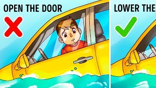 The Only Way to Survive In a Sinking Car