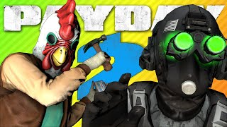 REJECT CLOAKER. RETURN TO MONKE. | Payday 2 Sociopath Perk Deck