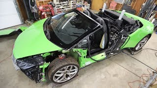 Damage Inspection on the Auction Lamborghini Huracan Lead to One Big Question...