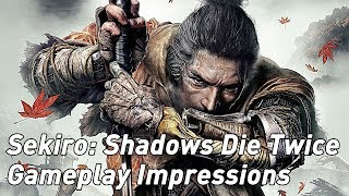 Sekiro: Shadows Die Twice - hands-on impressions