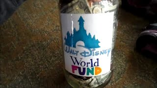 Vlog: Counting the Disney Jar Money!