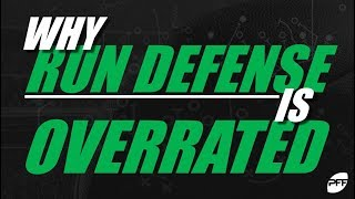 Why run defense is overrated | PFF
