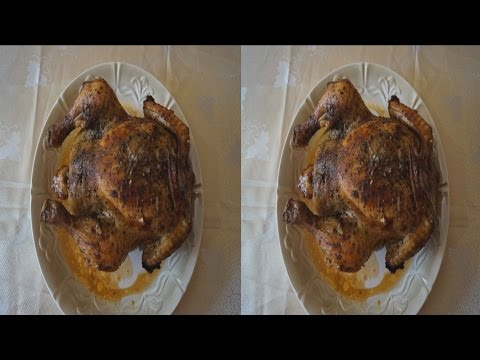 Festive Table in 3D !3D VIDEO