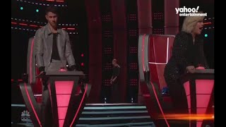 A 'Voice' audition so good, it breaks the coaches' chairs