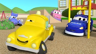 Let's play Hide And Seek with the Baby Cars in Car City ! - Cartoon for kids - YouTube