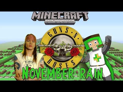 Baixar Guns N' Roses - November Rain - LONGEST and LARGEST Minecraft Xbox 360 Noteblock Song EVER