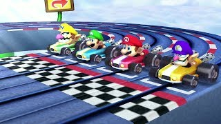 Mario Party: The Top 100 Mini Games - Mario Vs Luigi Vs Wario Vs Waluigi (Master CPU)