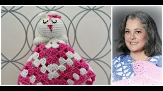0c77b9565c3 How to crochet bunny blankie lovie - Part 1 (subtitulos en espanol - Parte 1