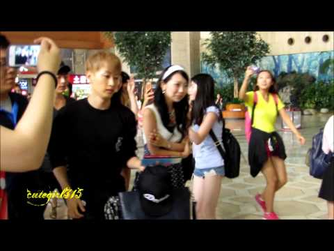 130628 Super Junior at gimpo airport to china
