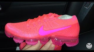880deae49df ... uk nike air vapormax hyper punch pink womens sneakers youtube b50e0  71a50