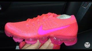61ce98c68130 ... uk nike air vapormax hyper punch pink womens sneakers youtube b50e0  71a50