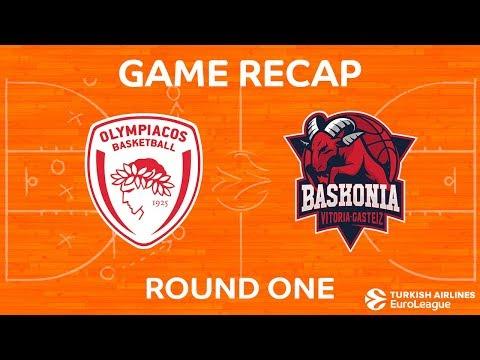 BC Olympiakos Piraeus vs Baskonia Vitoria Gasteiz