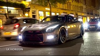 10,000HP Worth of Nissan GTR R35's Invade London!
