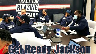 """Deion Sanders and Jackson State University Football Coaching Staff """"READY TO COMPETE"""""""