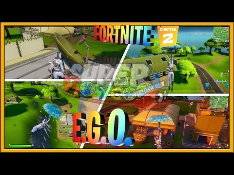 E.G.O. OUTPOSTS LOCATION FORTNITE CHAPTER 2 SEASON 1