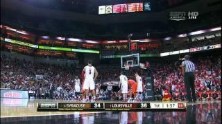 #6 Syracuse vs #1 Louisville 01/19/13 (Full Game)