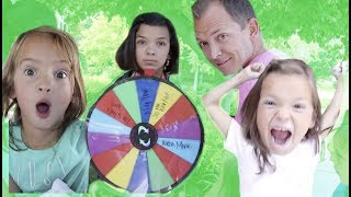 SPIN WHEEL CONTROLS OUR DAY! wheel of woah