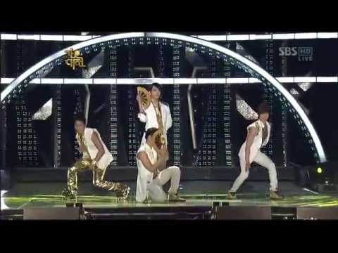 SBS Gayo Daejun 2009 Gender Switch (Male set)