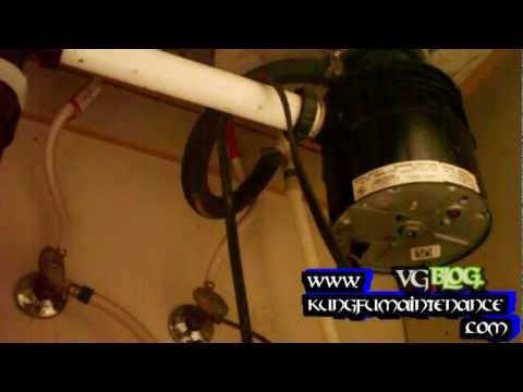 How To Replace A Leaking Disposer Garbage Disposal Youtube