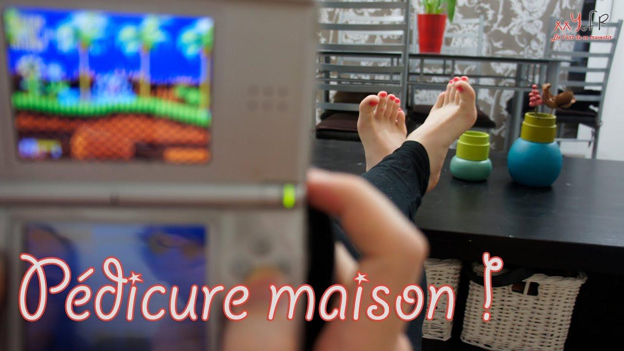 xxy la beaut des pieds p dicure maison youtube. Black Bedroom Furniture Sets. Home Design Ideas