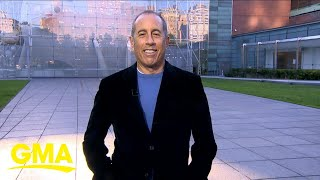 Jerry Seinfeld talks about his new book, 'Is This Anything?' | GMA
