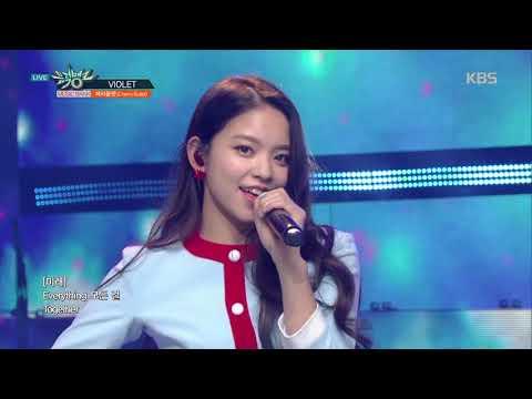 뮤직뱅크 Music Bank - VIOLET - Cherry Bullet(체리블렛) .20190125