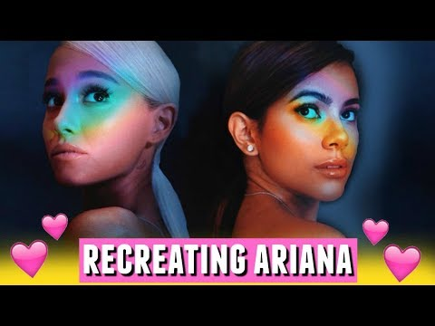 I Tried Recreating Ariana Grande's Album Cover!📸🌈