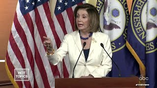 """Pelosi Tells Reporter """"Don't Mess With Me"""" 
