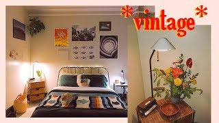 Decorating our *VINTAGE AESTHETIC* Bedroom @kel.lauren