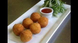How To Make Arancini (Stuffed Risotto Balls)