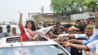 fbb Colors Femina Miss India World 2019 Suman Rao's grand homecoming