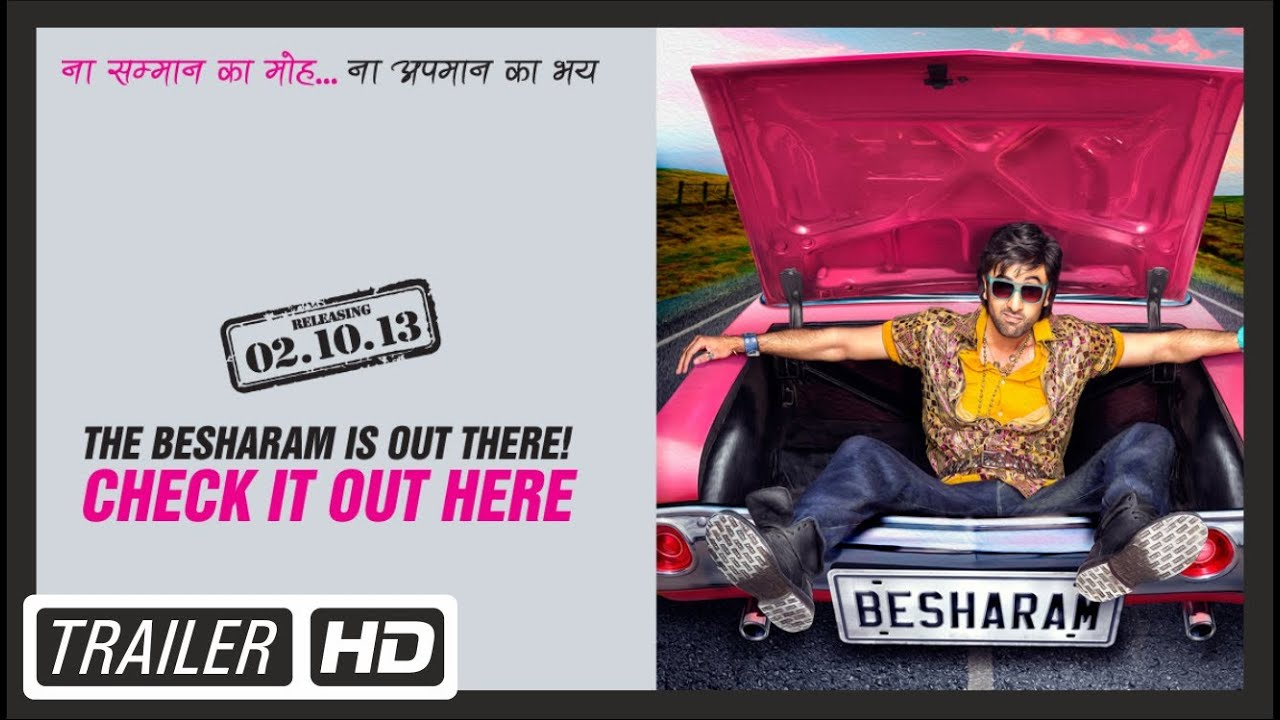 Besharam - Official Trailer