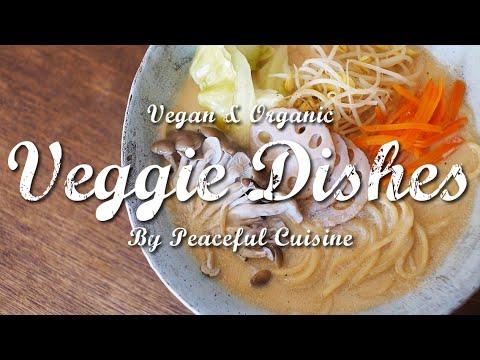重曹1つでパスタをビーガンラーメンに大変身させる方法:How to Make Vegan Ramen with Simple Ingredients | Veggie Dishes