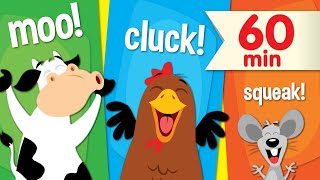 Animal Sounds Songs | + More Super Simple Songs for Kids - YouTube